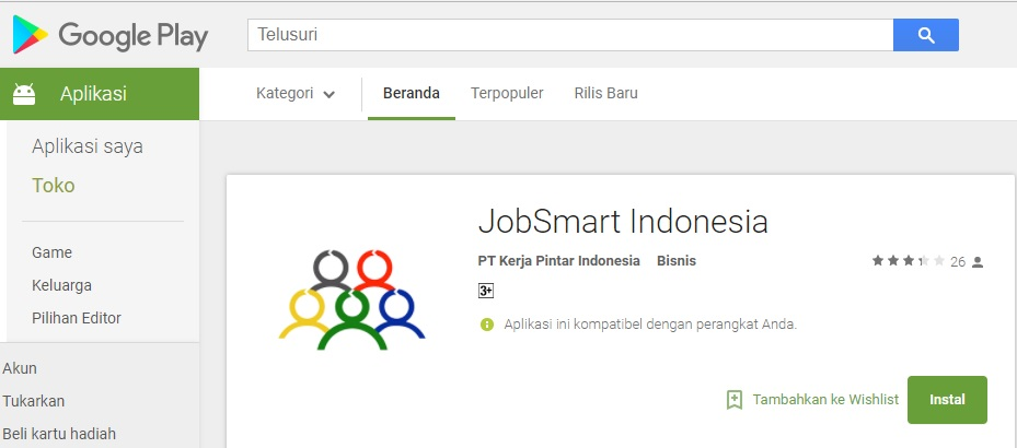 Aplikasi Jobsmart