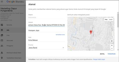 Beranda Google Bisnisku