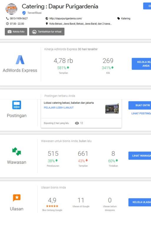 Google Bisnisku Terverifikasi