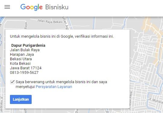 Klaim Bisnis di GoogleMaps