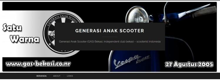 Generasi Anak Scooter (gas) Bekasi